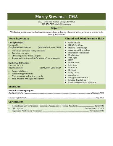 medical assistant resume template free nursing resume writing