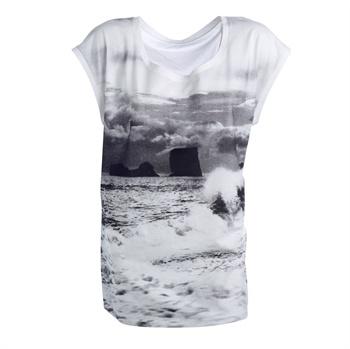 T-shirt femaleT Shirts White, Nord White, Tshirt White, Sea T Shirts, Sea Tshirt, Sea View, White Seaview, M L Woman, Seaview M L