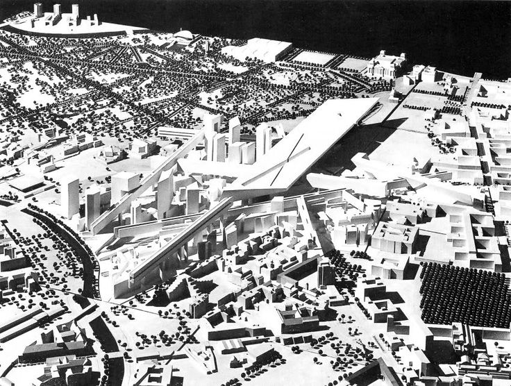 THOUGHTS ON ARCHITECTURE AND URBANISM: Architectural Exhibition Presents Unrealized Visions of Berlin