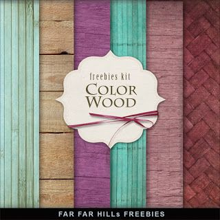 Far Far Hill: Freebies Color Wooden Backgrounds
