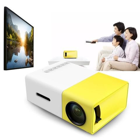 New Portable Home Theater Projector