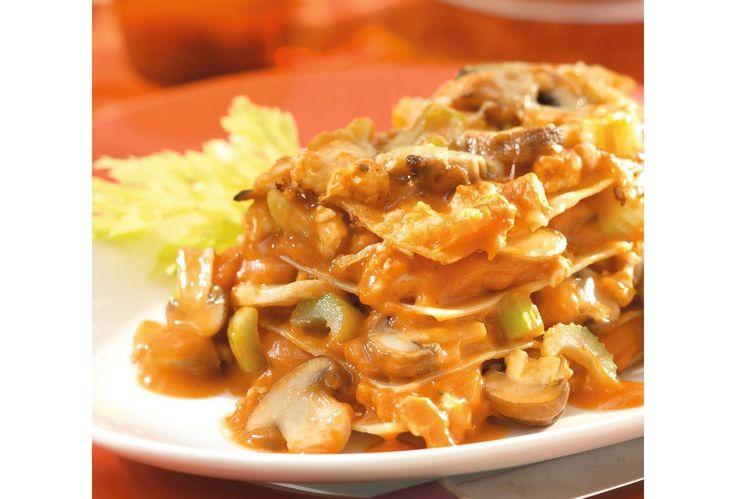 Lasagne met kalkoen