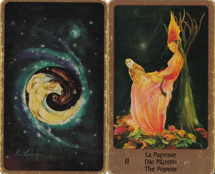 This is Tarot of Eden by Alika Lindbergh and Maud Kristen.