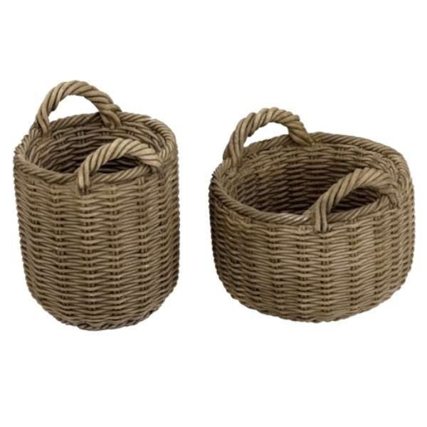 Tiny Wicker Basket With Handle : Best images about wicker baskets with handles on