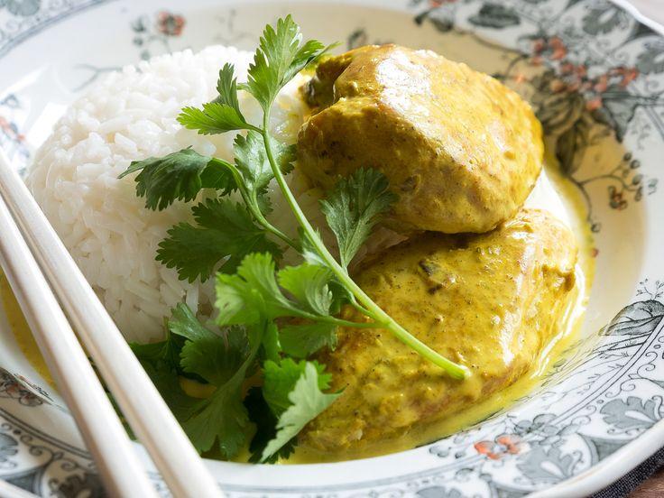 Une recette indienne très parfumée sans être piquante, qui rencontre toujours un franc succès auprès de mes invités.