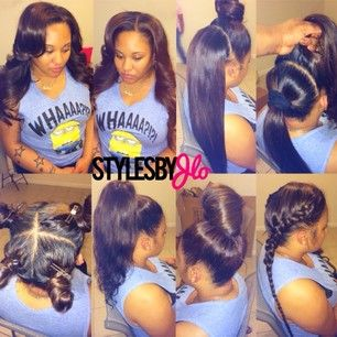 Brilliant 1000 Images About Hair Styles On Pinterest Vixen Sew In Bobs Short Hairstyles Gunalazisus