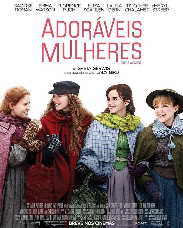 Poster Oficial Do Filme Adoraveis Mulheres Fevereiro De 2020 Nos