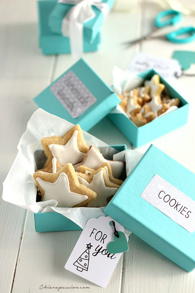 Chiarapassion: Christmas shortbread, tiffany style christmas cookies recipe