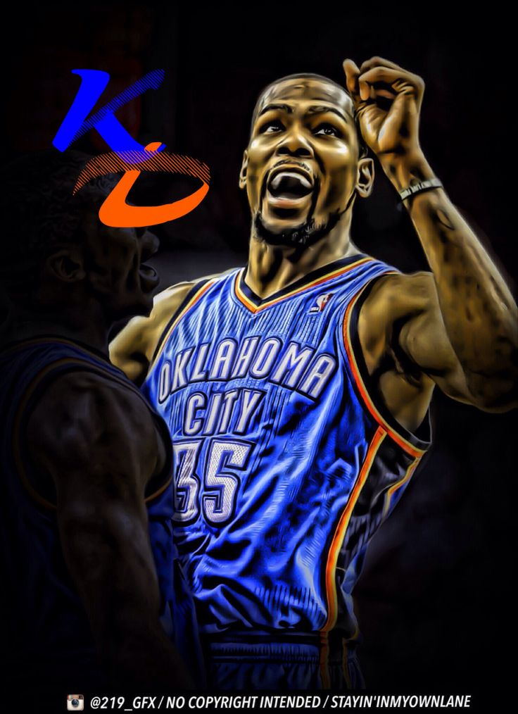 Kevin DurantOKC Thunder Sports Edit Oklahoma City