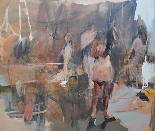 Painting by Jenn Warpole
