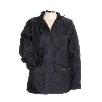 Barbour® Ladies Cavalry Polarquilt Jacket - Black US4/UK8 Barbour. $279.00