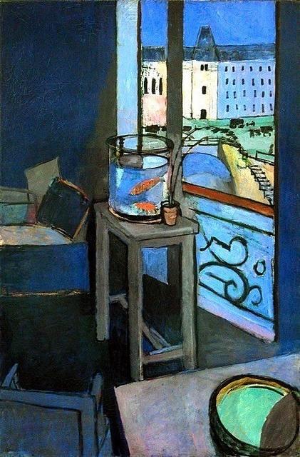 Henri Matisse, Goldfish (1869-1954).  1914 by BoFransson, via Flickr