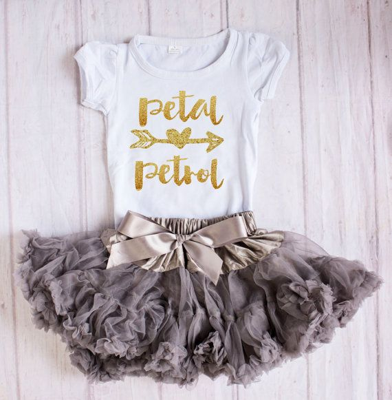 Flower Girl Rehearal Outfit...Petal by SuriPieCreations on Etsy