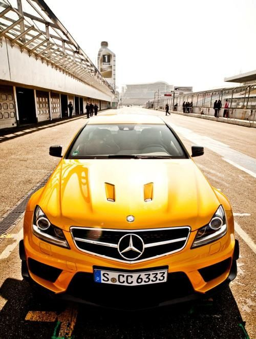 Mercedes-Benz C63 AMG Black Series, a German car that actually has soul in its design