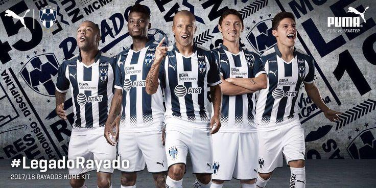 Camisas do Monterrey 2017-2018 Puma
