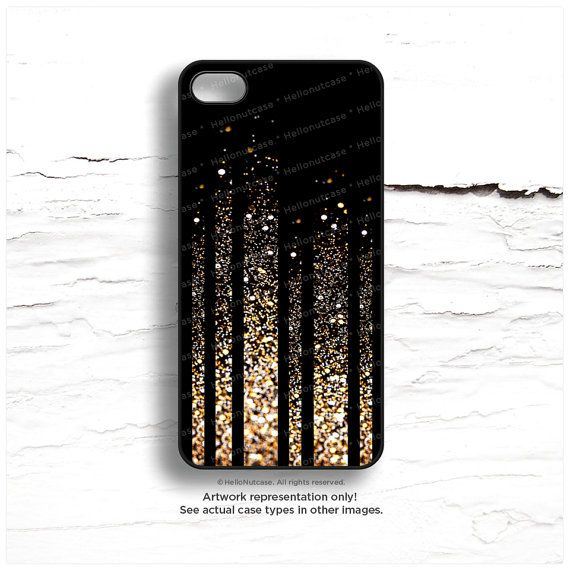 iPhone 6 Case Stripes iPhone 5C Case Glow Texture by HelloNutcase