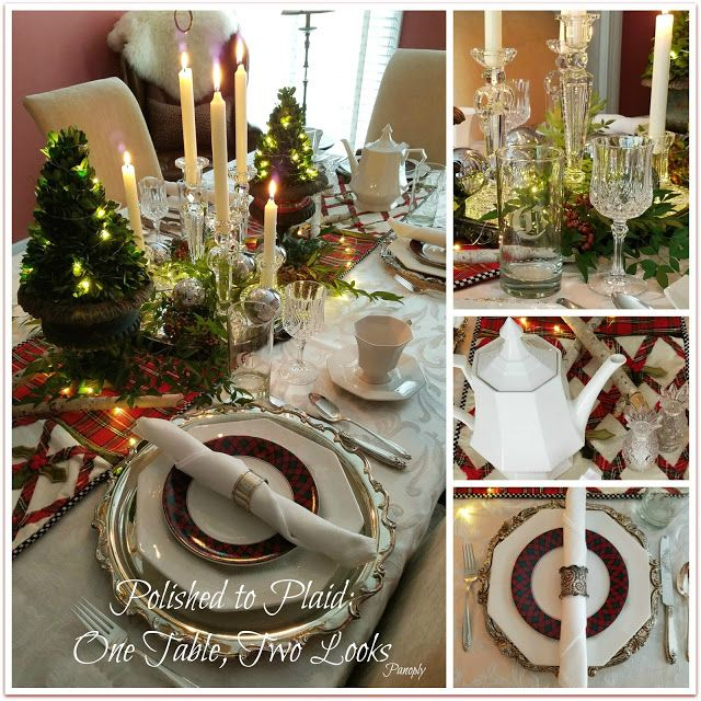 Panoply: Polished to Plaid: One Table, Two Looks