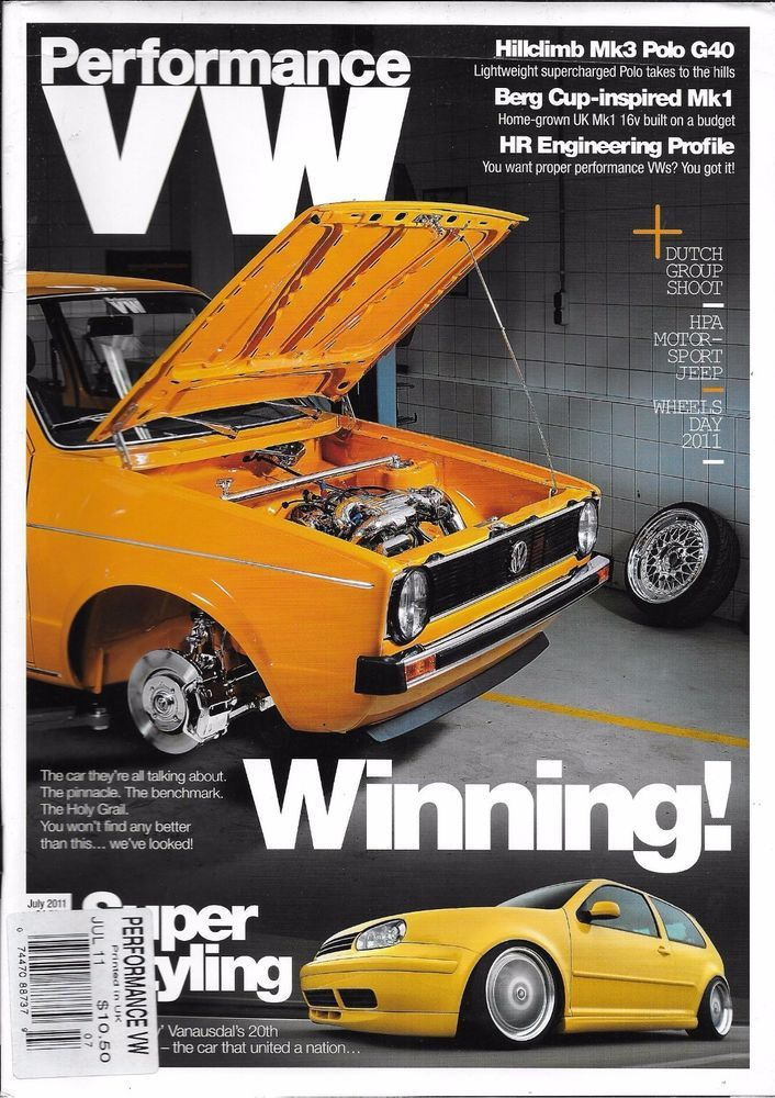 Performance VW magazine Hillclimb Mk3 Polo G40 Berg Mk1 HR engineering profile