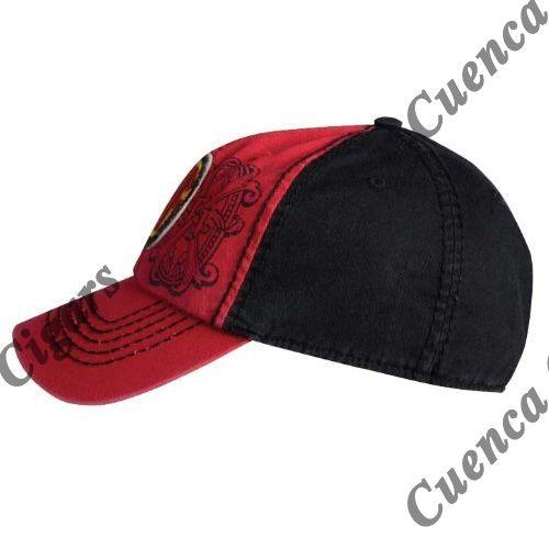 Shop Now Arturo Fuente AF Opus X Logo Baseball Hat - Red and Black | Cuenca Cigars  Sales Price:  $24.99