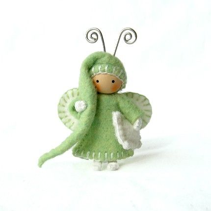Bed Bug Pear and White. I don't normally go for anthropomorphic designs (spelled it wrong, I'm almost sure), but this guy has charm.
