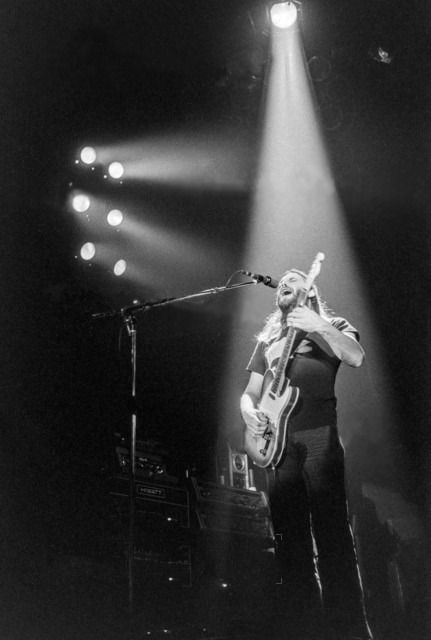 """lucy-pepper: """" David Gilmour of Pink Floyd & his Telecaster during Dogs Zurich - February 4, 1977 """""""