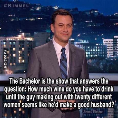 """Jimmy Kimmel on """"The Bachelor"""""""