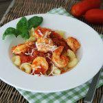 Aus dem Crockpot für den Vorrat: Shrimp Marinara