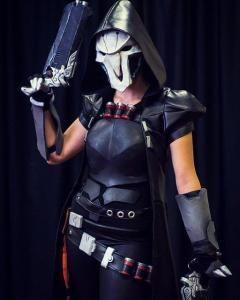 overwatch reaper cosplay reaper overwatch cosplay pinterest