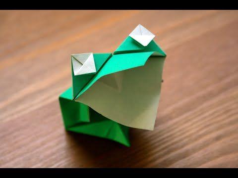Les 25 meilleures id es de la cat gorie origami grenouille sur pinterest origans facile pour - Comment faire une grenouille en papier ...