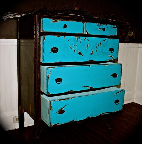 Bohemian Refinished Furniture Shabby Chic French Provincial Cottage Country Chest of Drawers Upstate Lyman South Carolina SC