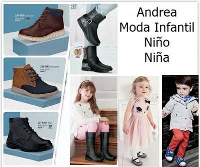 Moda Infantil Andrea. Zapatos de niños andrea, ropa de niños andrea, botas andrea, tenis andrea para niños, balerinas andrea para niñas, andrea kids
