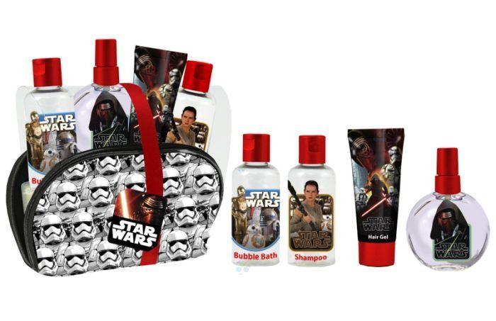 Star Wars zestaw woda kolońska, żel, szampon,żel * - Kosmetyki dla dzieci