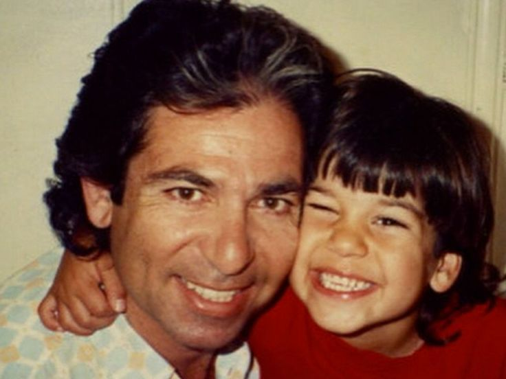 Robert Kardashian Sr., and Robert Kardashian Jr., as shared by Rob.