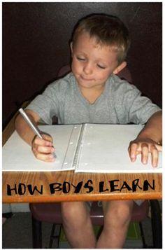 how boys learn