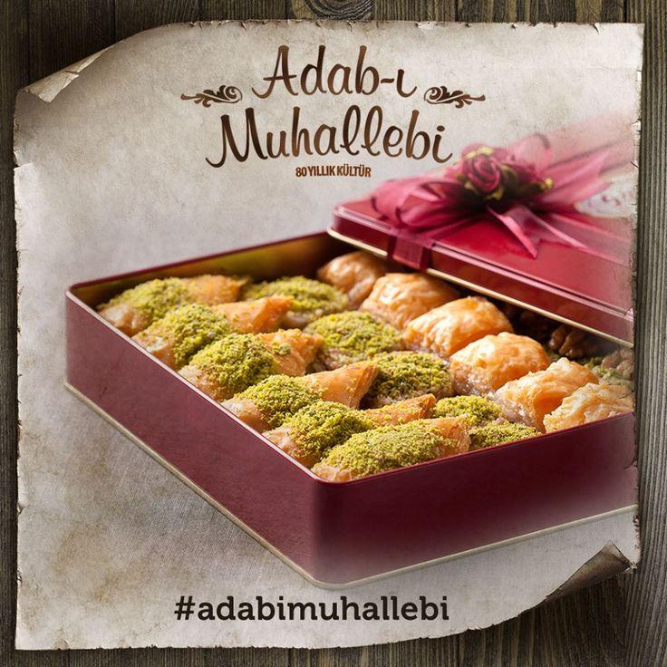 Adab-ı Muhallebi; alınan ilk maaşla 1 kilo tatlı alıp, bereketiyle herkese yeteceğini bilmektir.