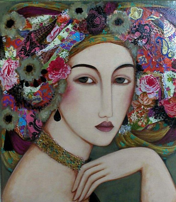 madmblu:  One of my favorite artists - Faiza Maghni