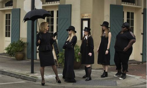 American Horror Story: Coven  Love this show. The opening credits, I am almost positive, were taped in Corriganvile.