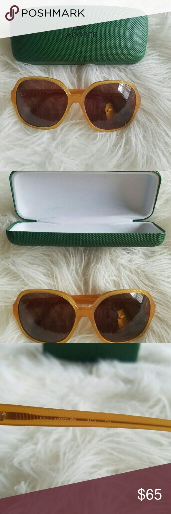 HPLacoste woman's sunglasses Brand new. Gift but are too big on me. Great looking pair of shades. 100% UVA protection.  Purchased through elite Eyewear. Accessories Glasses