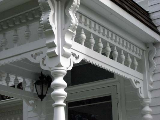 Victorian Porch Wood Post Turning And Railing Products , Ontario, GTA,  Toronto T Hoffmeyeru0027s Mill