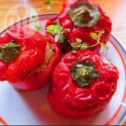 Papryka nadziewana mięsem mielonym i fetą @ allrecipes.pl