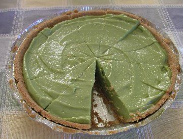 Avocado pie. I baked one of these many years ago. It was spectacularly nasty.