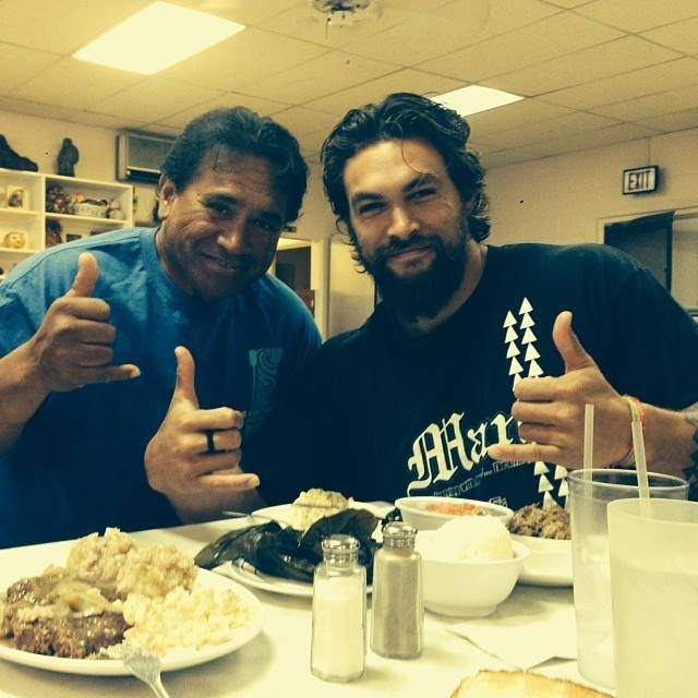 Saturday Man Candy The Hottest Dads On The Planet: Joseph Momoa And His Son Jason Momoa
