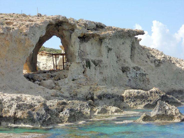 Kamareles Caves Gavdos Island, Crete