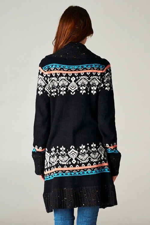 Fair Isle вязать свитер