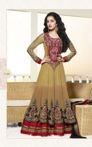 Shradha Kapoor Floor length Anarkali Suit..