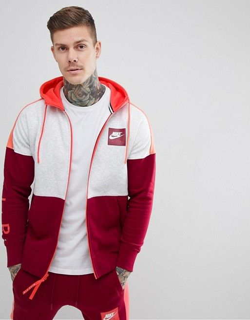 official photos ed261 b5cee Nike Air Tracksuit in Red