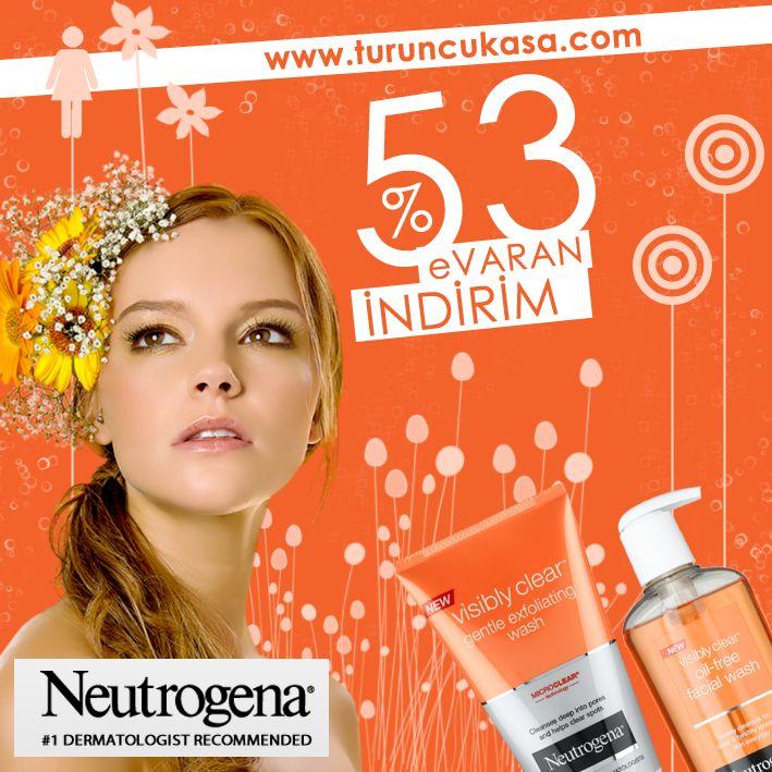 Neutrogena Ürünlerinde %53 'e Varan İndirim Fırsatı ! Kalite yine ve yeniden uygun fiyatla turuncukasada !