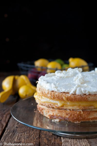 Lemon Beer Dream Cake (You know, if I were to make myself a birthday cake...which I totally wouldn't. Probably.)
