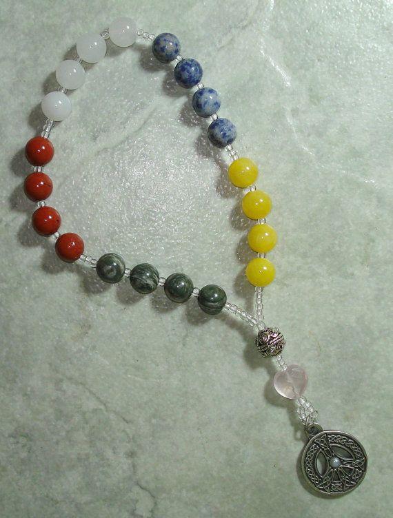 Pray For World Peace - World Mission Prayer Beads - Pocket Size $25, beautiful idea
