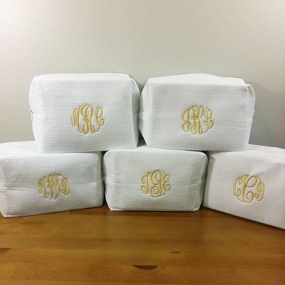 monogram cosmetic bags set of 5